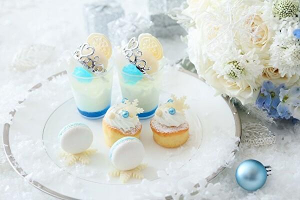美しいホワイト×ブルーの世界にうっとり♡ストリングス八事の冬アフタヌーンティーは「雪の王女」がテーマ!