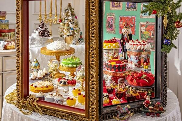 クリスマスのワクワク感がいっぱい♩おとぎ話の世界をイメージしたスイーツビュッフェがヒルトン東京で開催!