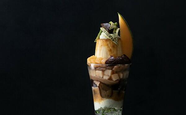 メロン×マロンの贅沢パフェは秋のご褒美に♡神楽坂の「果房メロンとロマン」に秋の新作が登場しました♩