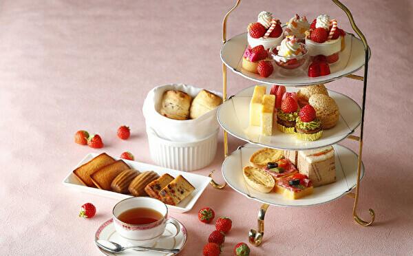 甘酸っぱい誘惑がいっぱい♡ウェスティンホテル東京のアフタヌーンティー&ブッフェが4ヶ月間いちごづくしに♩