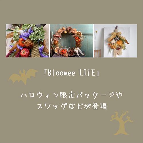 今年はおうちハロウィンを楽しみたい♡お花のサブスク「Bloomee LIFE」に季節限定アイテムが登場です!