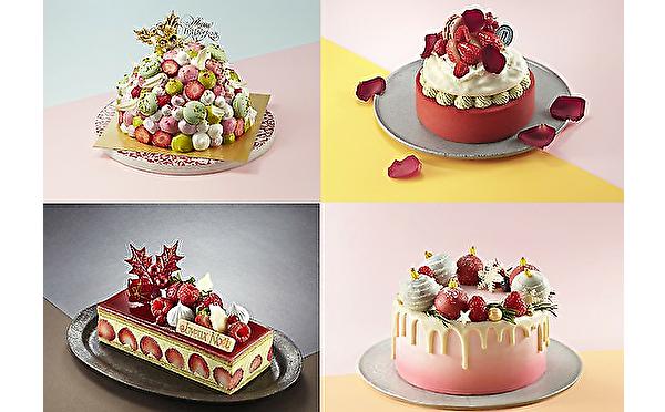 限定ケーキはガーリーなラインナップ♡新宿小田急のクリスマスケーキはオンライン予約でちょっぴりオトクに♩