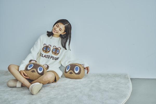 かわいいキャラクターに囲まれて幸せなおうち時間に♡ジェラート ピケから「あつ森」のルームウェアが登場です