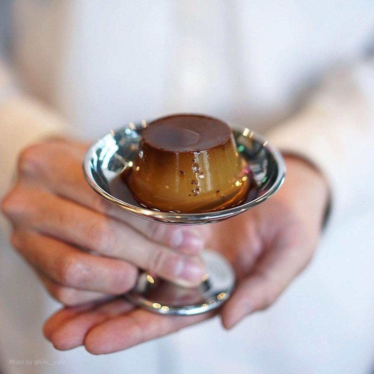 香り豊かな「固めプリン」が忘れられない♡コーヒー屋さんの作ったプリンが想像の何倍もおいしいと話題です