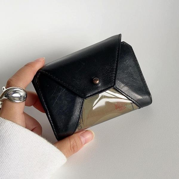 """今、私が1番欲しいミニ財布はこれ。「MAISON MANKITI」の""""お札が透ける""""お財布に一目で心奪われました♡"""