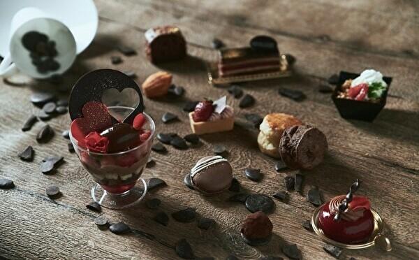 ヴァローナのショコラを使ったテイクアウト可能な苺アフタヌーンティー。横浜・伊勢山ヒルズで2月スタート