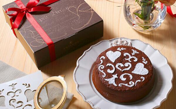 デコレーションは自分で。アンテノールのバレンタイン限定「濃厚ガトーショコラ」は手作り気分も楽しめます