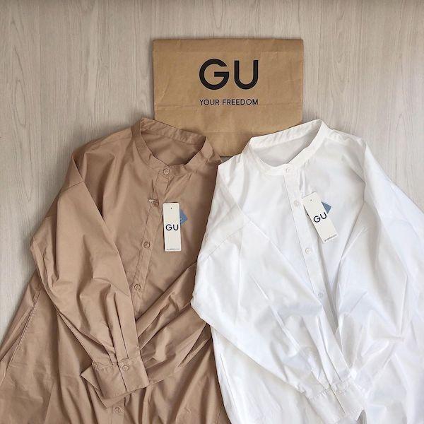 """発売後すぐに売り切れ続出?GUの""""新作ワンピース""""は春先まで着られる優秀アイテムだから要チェック"""