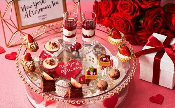 バレンタイン限定デザートも登場♡いちご×チョコのアフタヌーンティーがストリングス表参道で始まります