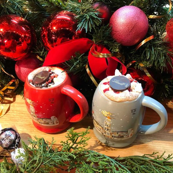 ホットチョコの甘さで心が溶ける…リンツが初出店する「東京クリスマスマーケット」が東京・日比谷で開催中