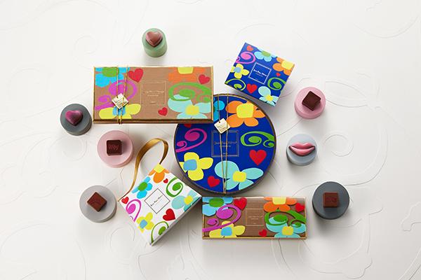 限定ショコラがカラフルな花柄BOXに。「ジャン=ポール・エヴァン」のヴァレンタインがポップでかわいい!