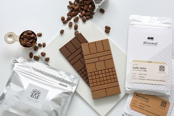 "Minimal×丸山珈琲の""食べるコーヒー""が再登場!カフェラテの風味を再現したチョコレートは一度食べてみたい…"
