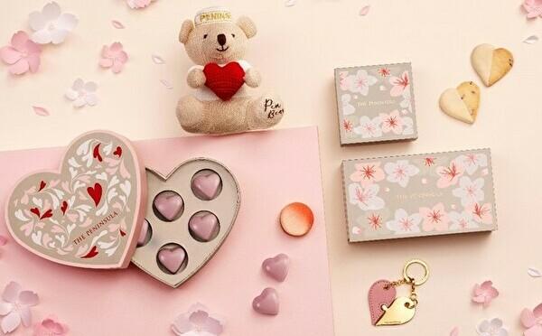 ピンクのアイテムは春のギフトにも。ザ・ペニンシュラ ブティック&カフェのバレンタインコレクション