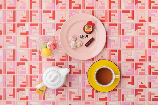 今年のバレンタインは、話題の「FENDIカフェ」で過ごさない?この時期を鮮やかに彩る限定メニューがスタート