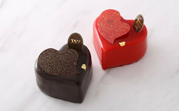 新作のハート型ケーキは大切な人とのおうち時間に。ヴィタメールにバレンタインアイテムが続々お目見え