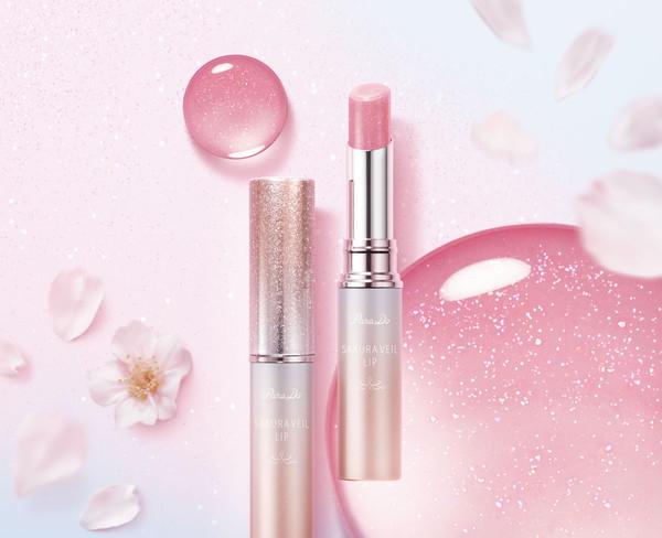 唇用美容液で血色感をプラス。パラドゥより願いを込めた『桜お守りリップ』が登場します