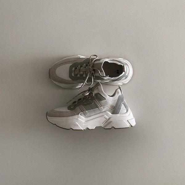H&Mのスニーカーがこんなにかわいかったなんて。ちょいゴツめのチャンキーソールはこの春絶対にGETしたい
