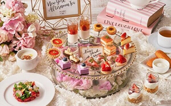 甘酸っぱい苺×個性豊かなチーズが主役。ストリングス表参道、美味しくヘルシーな春のアフタヌーンティー