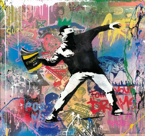 バンクシーによってアーティストになった「MR.BRAINWASH」の個展が渋谷で開催。革新的な作品に注目