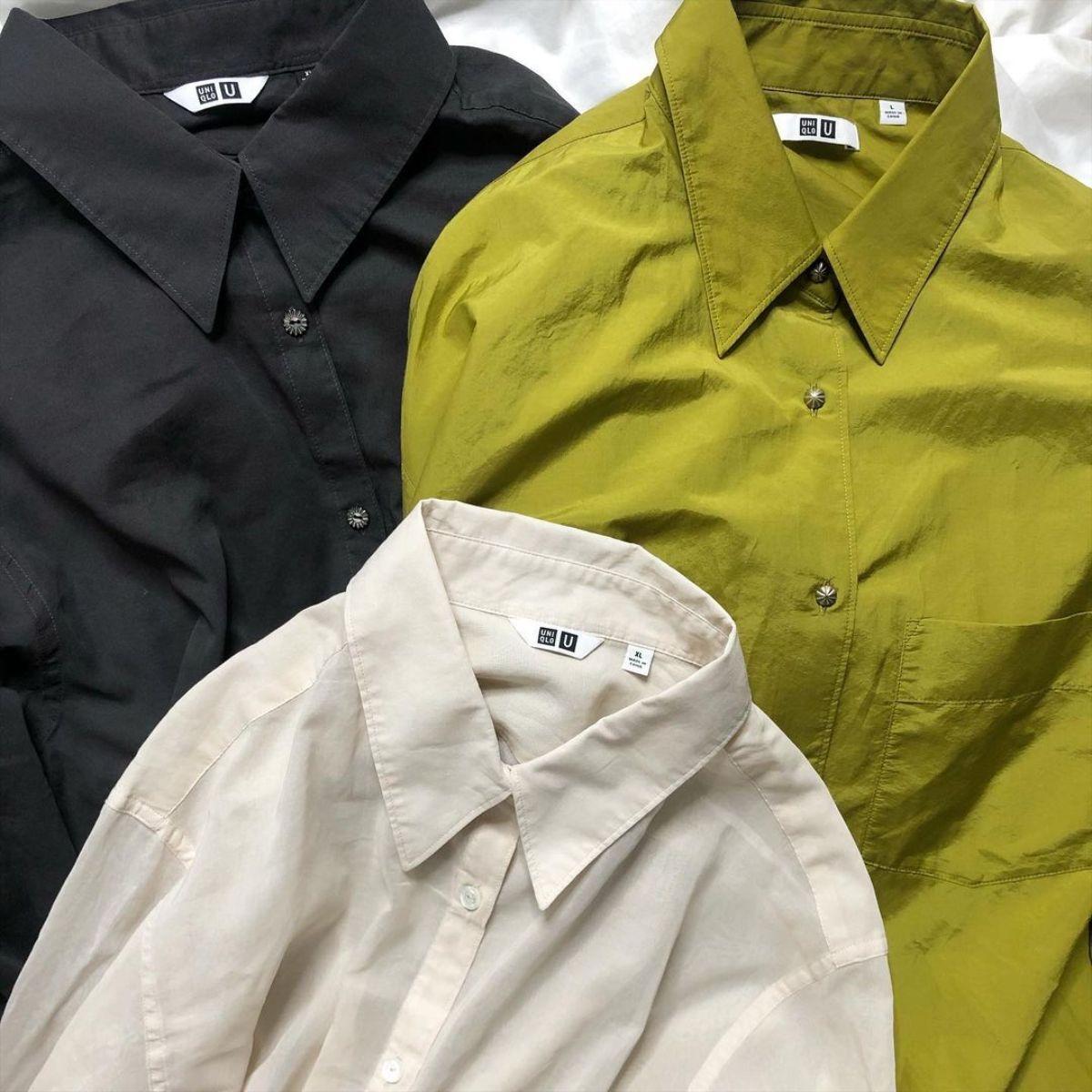 【ユニクロユー】数ある春シャツの中で1番に出会えたかも。「ダブルポケットオーバーシャツ」が見逃せません
