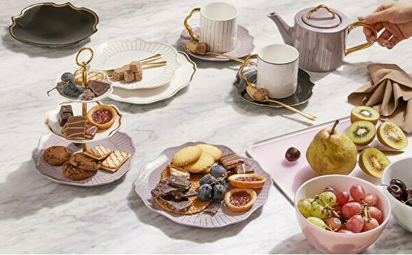Francfrancの新作「OUCHI CAFE」セットがステキ。手軽におうちアフタヌーンティーが楽しめるんです