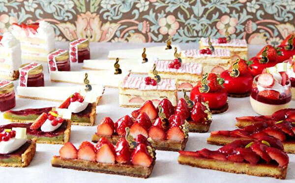 神戸のパティスリー「TOOTH TOOTH」でイチゴフェアが開催。甘酸っぱいケーキが9種類も楽しめちゃうんです