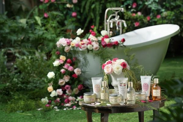 """魅惑的なローズをまとって""""秘密の花園""""気分…。SABONの新コレクション「ローズフェスティバル」がお目見え"""