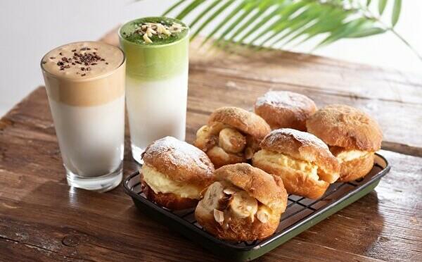 「ローステッド コーヒー」がルミネ横浜にOPEN。ダルゴナラテ×揚げパンの新たなペアリングが気になります