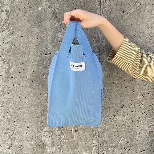 「それどこの?」って言われちゃう!2色買いしたくなるANEMONEの「ニットバッグ」がかわいすぎました