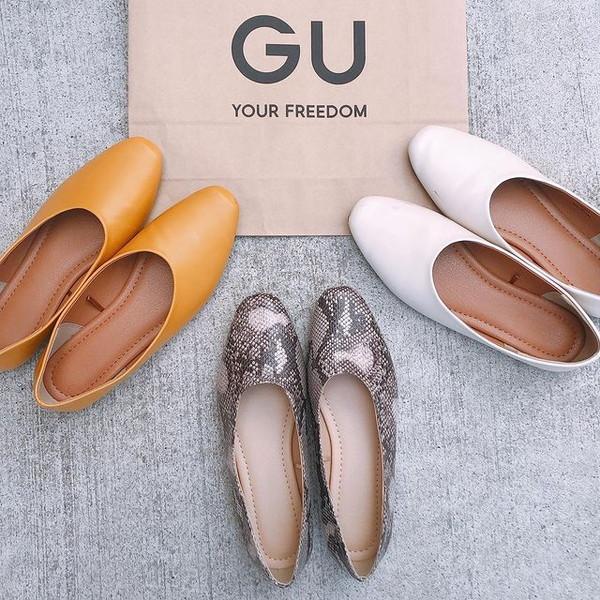 【GU】3月18日までの特別価格だから急いで!「買ってよかった」の声が続出する毎日でも履きたいシューズ3選