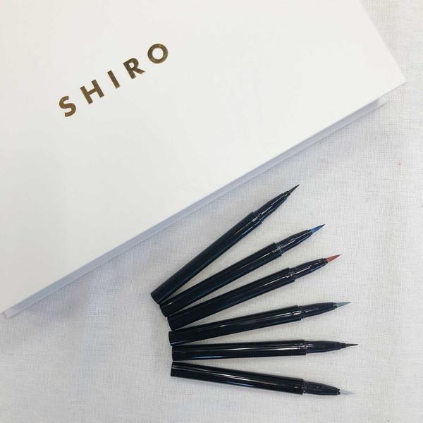 SHIROの新作アイライナーを全色レビュー!擦ってもヨレない使いやすさとこなれ感ある絶妙カラーが満点でした
