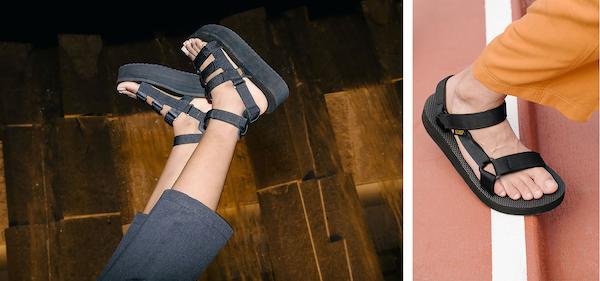 今年の夏は厚底を履きたい気分かも。Tevaから「プラットフォームサンダル」の新作と新色が発売です!