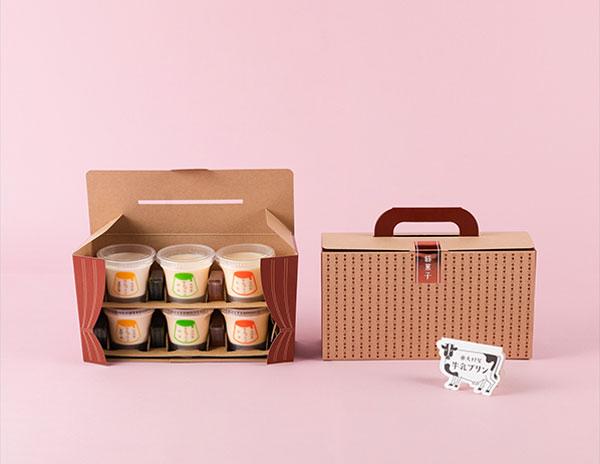 """老舗旅館の絶品「お茶プリン」がリニューアル。""""旅行カバン""""のような特製BOXは大切な人へのプレゼントにも♡"""