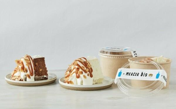 ブルーボトルコーヒー×MERCER bisがコラボ。3種類のシフォンケーキは限定店舗だけのお楽しみです