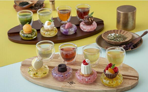 4種の宇治茶×果実のスイーツを食べ比べ。京都・茶寮FUKUCHAに新作のペアリングセットが登場しました