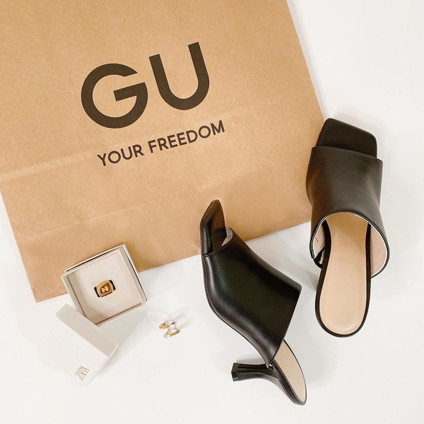 【GU】誰でも美スタイルが叶っちゃう。「コンフォートヒールミュール」は今から履ける大人っぽサンダルです
