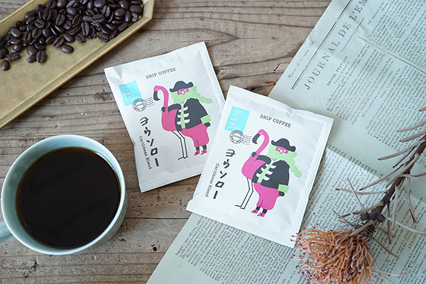 """一口飲んだら思わずカリブの大海原が見えてくる?香り豊かな""""お手紙風ドリップコーヒー""""がかわいいんです"""