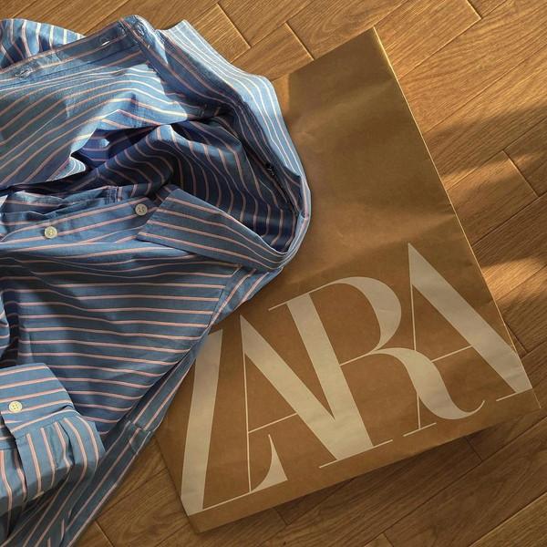 【ZARA】どれがお好み?1枚は持っておきたい春のベーシックアイテム「ストライプシャツ」を3つ厳選しました