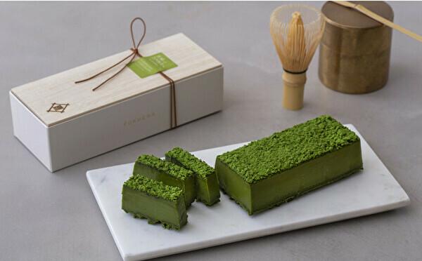京都・茶寮FUKUCHAに宇治抹茶×ショコラの新作がお目見え。濃厚なくちどけ、鮮やかグリーンがたまりません