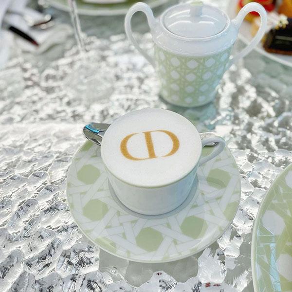 かわいいが詰まった「カフェ ディオール by ラデュレ」が銀座に登場!優雅な特別アフタヌーンティーを堪能して