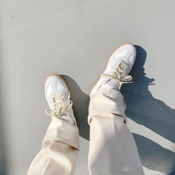「マルジェラ」はスニーカーもかわいかったなんて。周りと被りたくない人はハイブランド靴もアリじゃない?