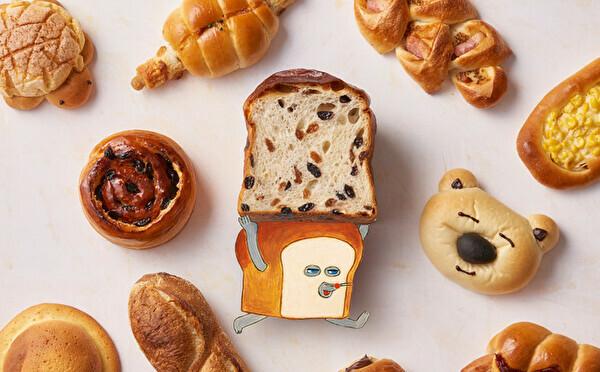 hotel koe bakery×人気絵本「パンどろぼう」がコラボ。絵本のイラストを再現した期間限定パンが勢ぞろい