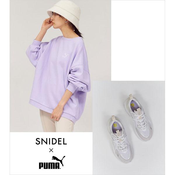 スポーティーなスタイルこそレディに着こなしたい。「SNIDEL」×「PUMA」が初のタッグ