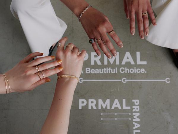 """エシカルなダイヤモンドジュエリーを販売する""""プライマル""""。リブランディングを記念しPOP UPが表参道で開催"""