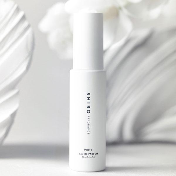 SHIROの限定フレグランス「ホワイト」がオンライン限定で登場。初夏にぴったりな涼しげで透明感のある香り