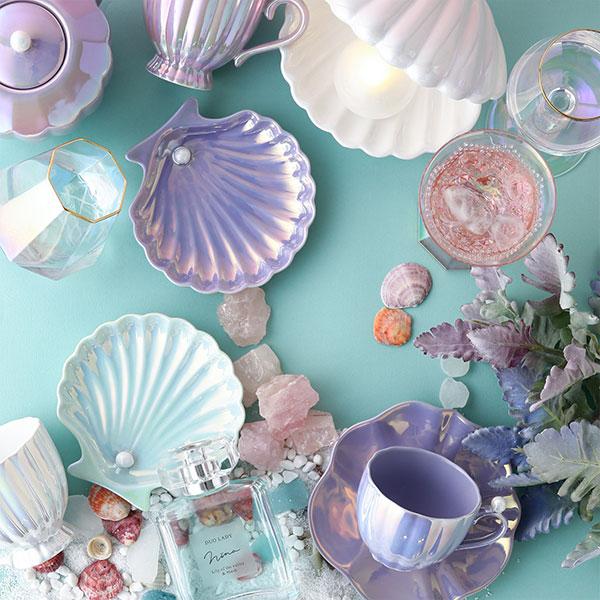 貝殻モチーフや夏カラーのアイテムにときめきます。Francfrancのサマーグッズで夏を始めよう
