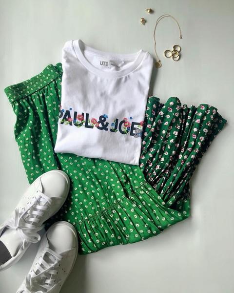 泣く泣く諦めてたから嬉しすぎ!再販される「ユニクロ × PAUL & JOE」のグリーンスカートは即買い決定です