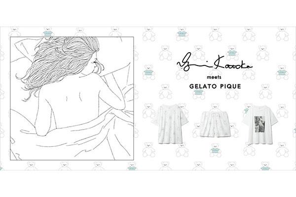 描き下ろしのアイテムがかわいい!gelato pique×イラストレーター「コトカイズミ」さんコラボのアイテム発売