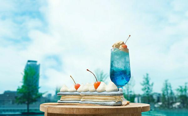 クリームソーダみたいな「空のエクレア」が期間限定で登場。神戸のビスポッケで2周年イベントが開催中です