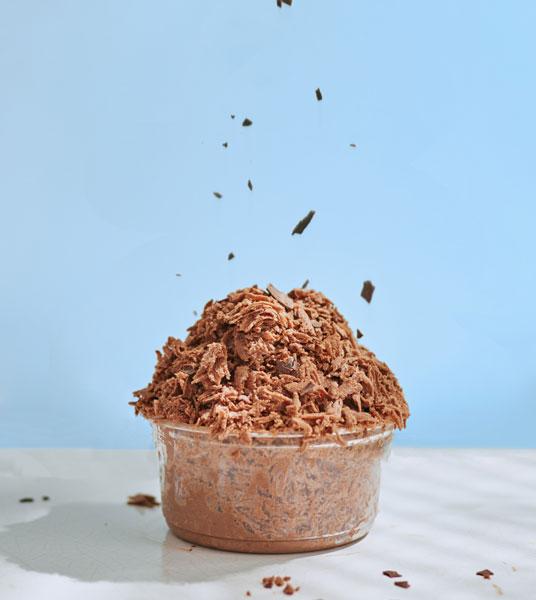 ふんわりとろける新食感!CHOCOLATE BANKとMAISON CACAOに生かき氷チョコレートが登場です